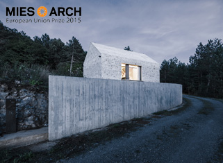 Kompaktna kraška hiša nominirana za 2015 Mies Award