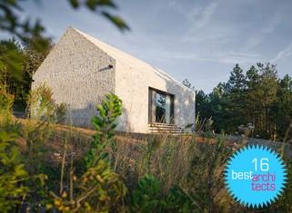 Kompaktna Kraška hiša je nagrajena z 'best architects 16 award'