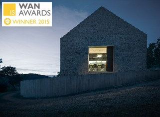WAN HOUSE OF THE YEAR AWARD 2015 nagrajenec