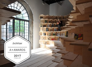 Dom v Arzenalu je finalist za Architizer A+ Awards